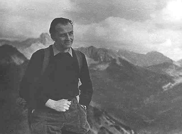 Gerard Ciolek, B&W photo, summer 1955, 12Kb