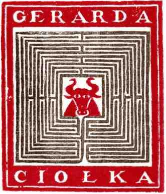 Gerard Ciolek, bookplate #4, 20KB
